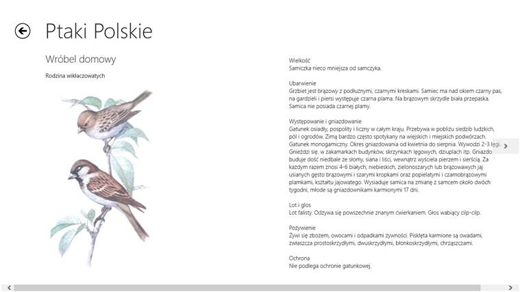 Ptaki Polskie screen shot 1