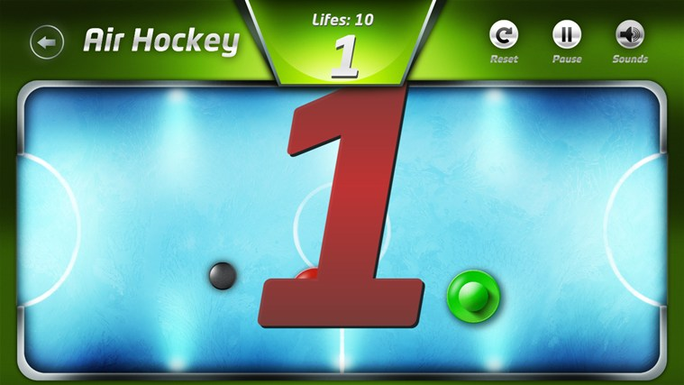 AirHockey screen shot 1