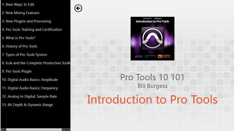 Pro Tools 10 101 - Introduction to Pro Tools capture d'écran 1