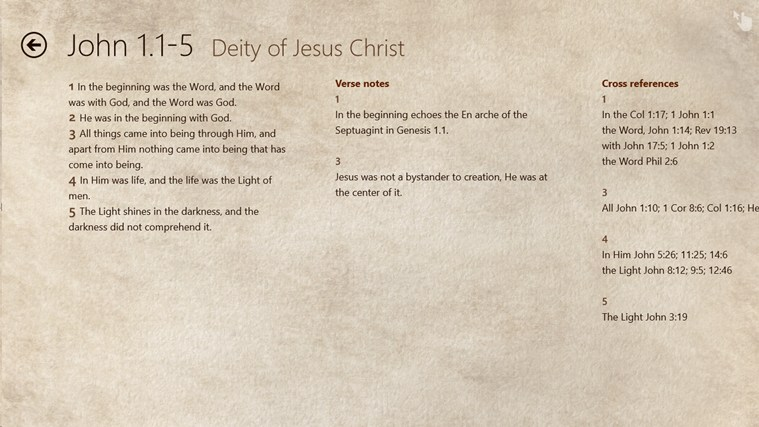 HeavenWord New Testament Studies Toolkit screen shot 1