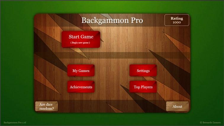 Backgammon Pro screen shot 5