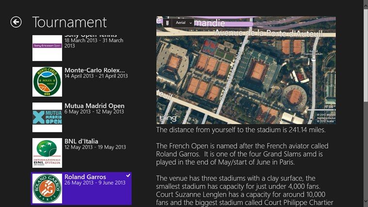 ATP Tour Tennis screenshot 1