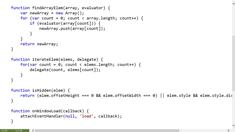 Code Writer screen shot 3