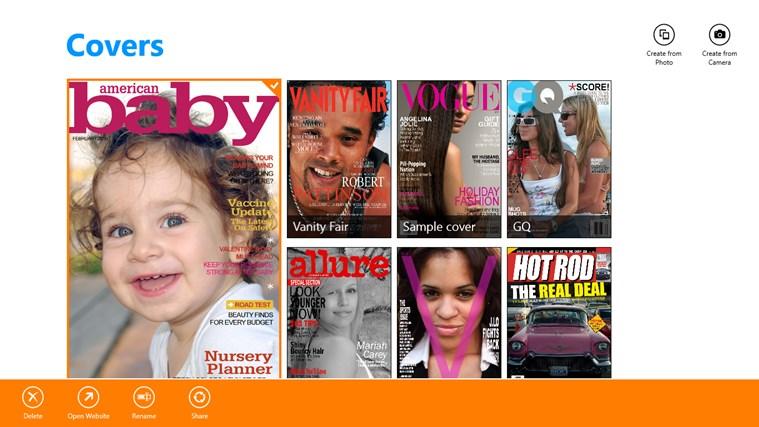 Covers screenshot 5