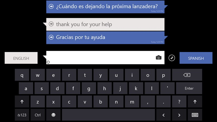 Bing Translator screen shot 1