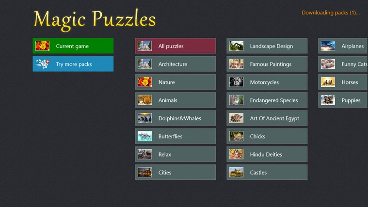 Magic Jigsaw Puzzles צילום מסך 5