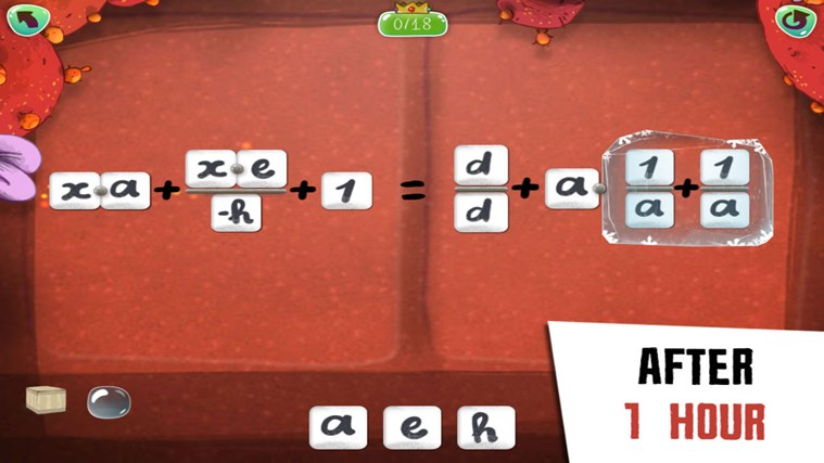 DragonBox Algebra 12+ screen shot 3