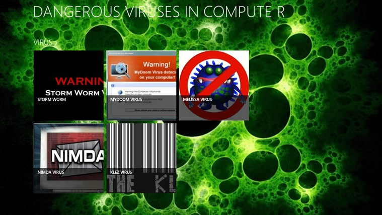 DANGEROUS VIRUSES IN COMPUTER screen shot 1