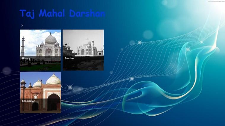 Taj Mahal Darshan petikan skrin 1