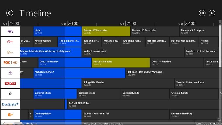 TV-Programm Screenshot 1