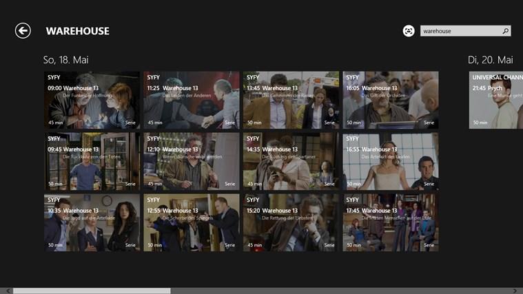 TV-Programm Screenshot 7