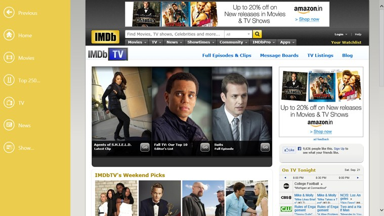 IMDb HD screen shot 3
