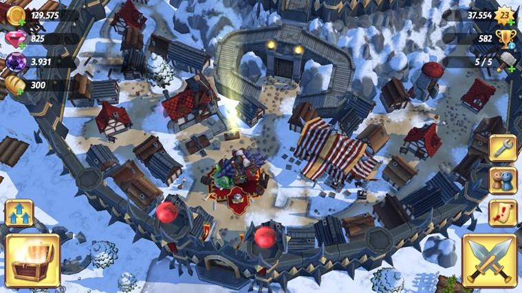 Royal Revolt 2 screen shot 1