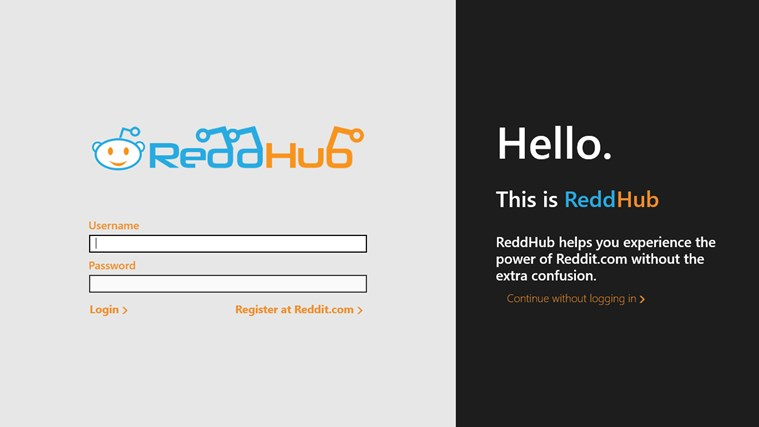 Reddit on ReddHub screen shot 1