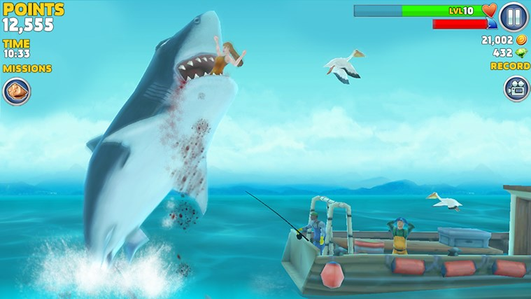 Hungry Shark Evolution screen shot 1