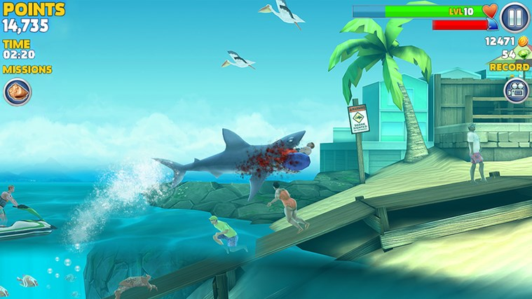 Hungry Shark Evolution screen shot 3