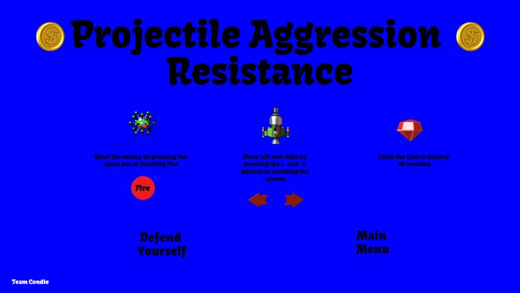 Projectile Aggression Resistance screen shot 1