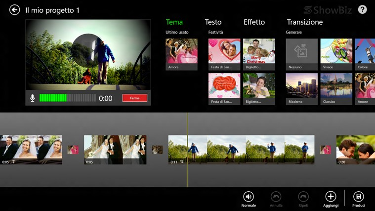 ArcSoft ShowBiz cattura di schermata 1