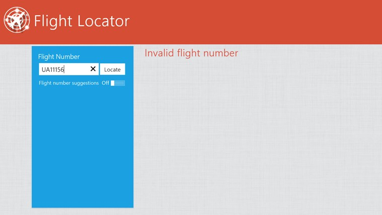 Flight Locator screen shot 5
