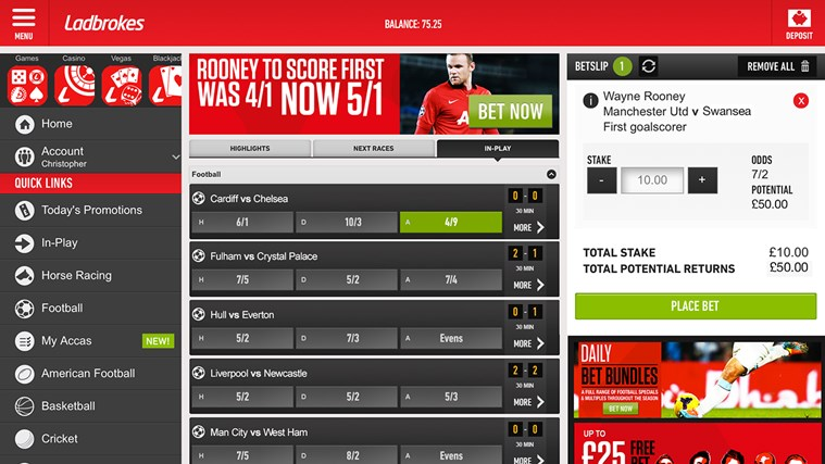 football bettings apps