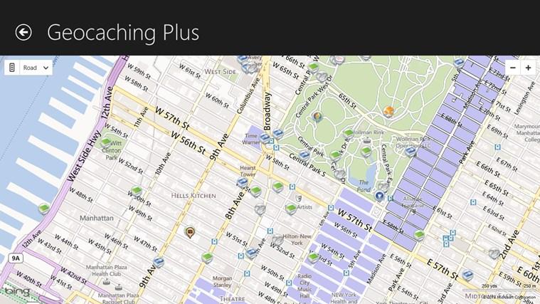 Geocaching Plus Beta screen shot 1