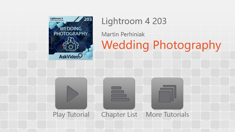 Lightroom 4 - Wedding Photography screen shot 1