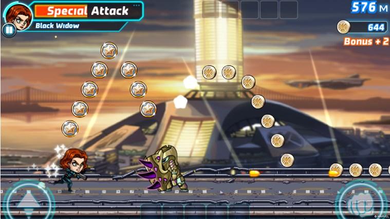 Marvel Run Jump Smash! screen shot 3