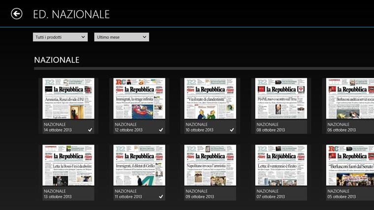 La Repubblica+ cattura di schermata 5