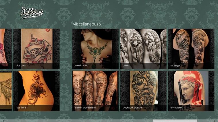 Doctor Pepper Tattoo screen shot 1