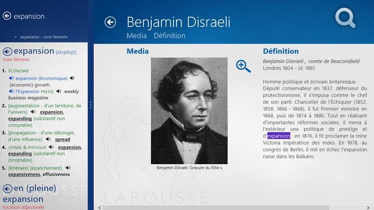 Dictionnaire français – anglais Larousse capture d'écran 7