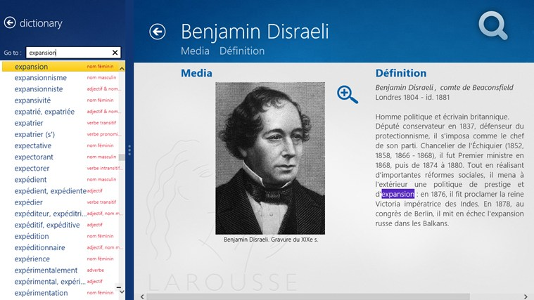Dictionnaire français – anglais Larousse screen shot 5
