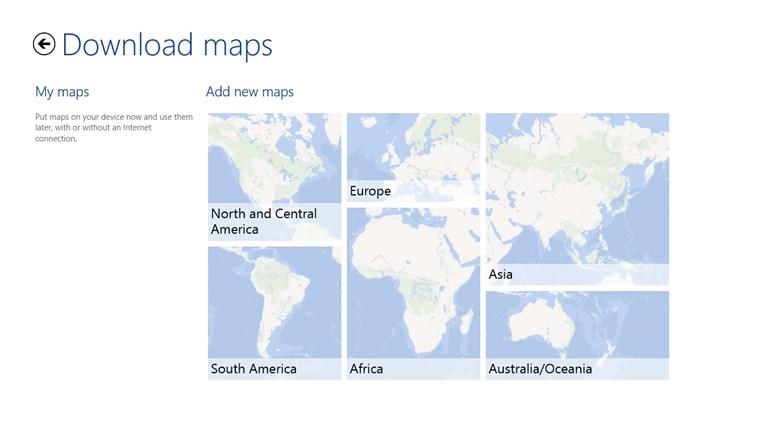 HERE Maps screen shot 7