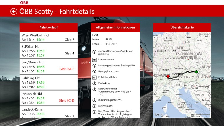 ÖBB Scotty Screenshot 1
