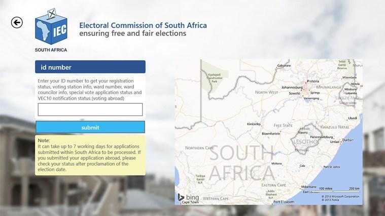 IEC South Africa screen shot 1