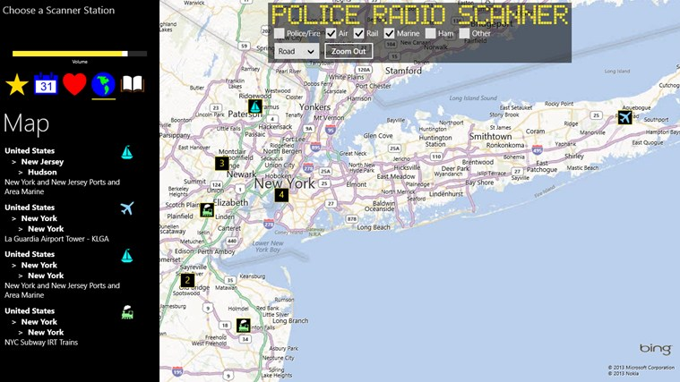Police Radio Scanner screen shot 3
