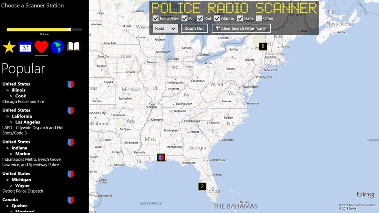 Police Radio Scanner screen shot 5