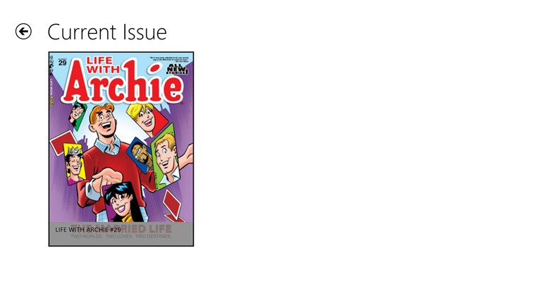 Archie Comics screen shot 3