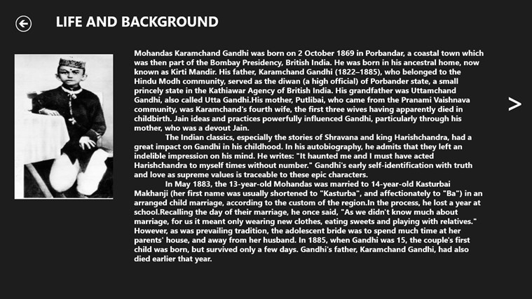 the influences of mohandas karamchand gandhi What influenced mahatma gandhi essay - mahatma gandhi & his influences the indian essay on birth and upbringing of mahatma gandhi - mohandas karamchand.
