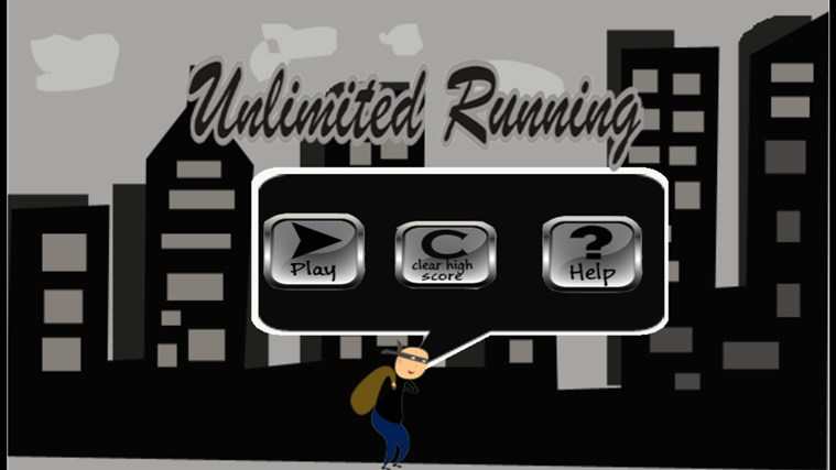 unlimited running screen shot 1