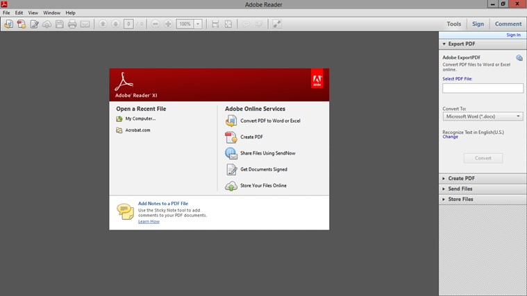 VMware Horizon screen shot 3