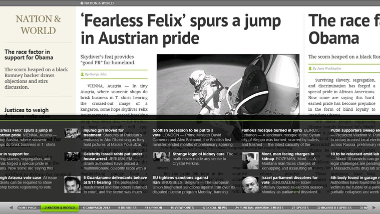 PressReader screen shot 5