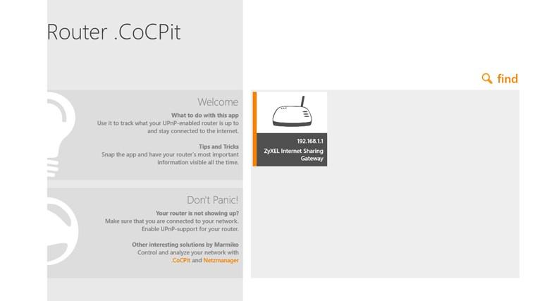 Router .CoCPit screenshot 7