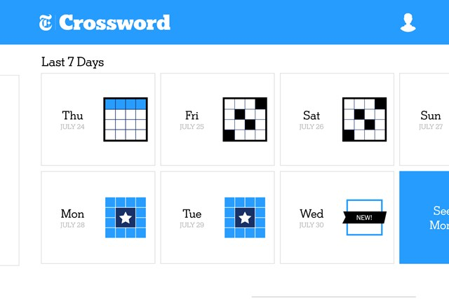 The New York Times Crossword screen shot 3