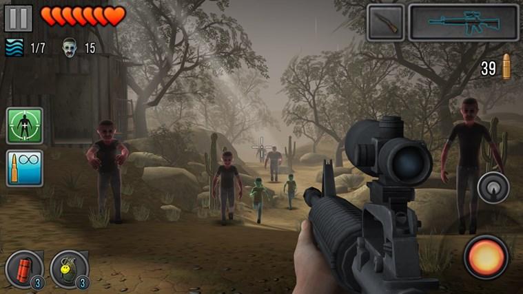 Last Hope - Zombie Sniper 3D screen shot 3