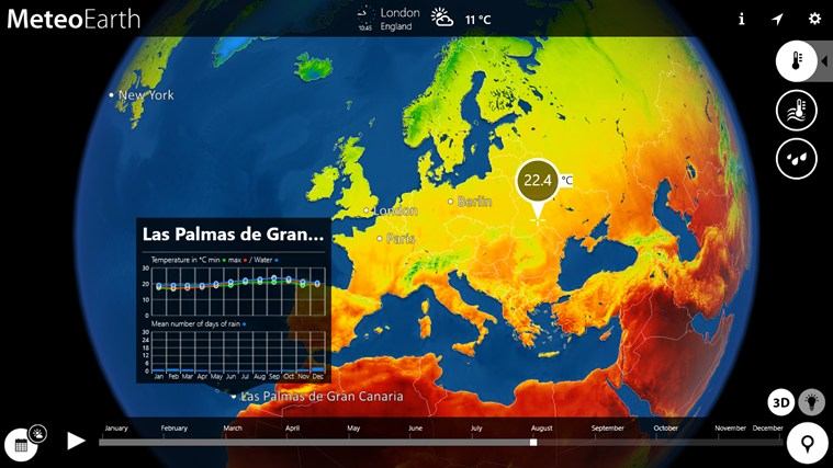 MeteoEarth screen shot 5
